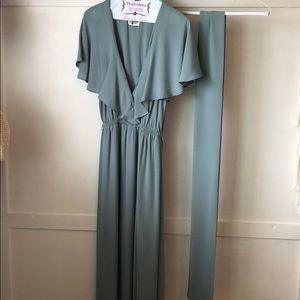 Show me Your Mumu Audrey Maxi Dress  - Silver Sage